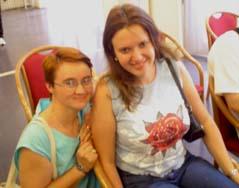 Cristina Foisor et Anna Zatonskih