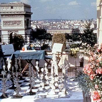 Hotel Raphael - La terrasse