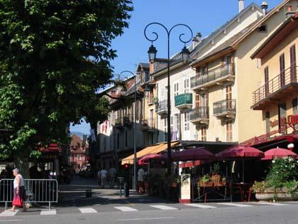 Rue du centre ville d'Aix