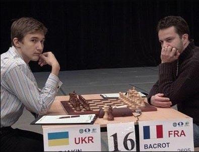 Etienne Bacrot - Sergey Karjakin