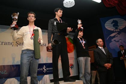 Le podium des cadets