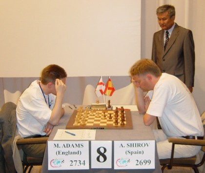 Adams - Shirov