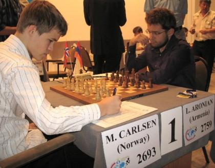 Carlsen - Aronian