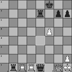 Position de la 2e partie Grischuk - Rublevsky aprèle le 40e coup blanc
