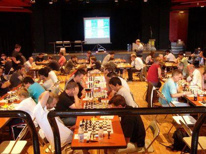 La salle du tournoi