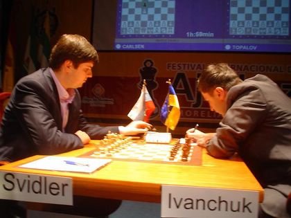 Svidler - Ivanchuk