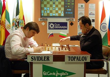 Svidler - Topalov
